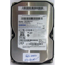 Disco Rígido Samsung 160gb Sata 7200 Rpm 16 Mb Buffer Smart