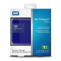 Hdd Externo 1tb My Passport Blue Diamond System