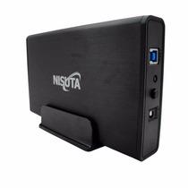 Gaveta Carry Disk Nisuta Discos Rigidos 3.5 Sata Usb 3.0