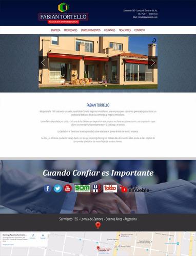 Diseño De Paginas Webs Autoadministrables Zona Zur, Lanus