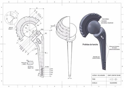 Diseño De Productos, Planos De Piezas En Solidworks