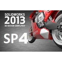 Solid Works Premium 2013 Sp4 Español+8000 Bloques + ¡curso!
