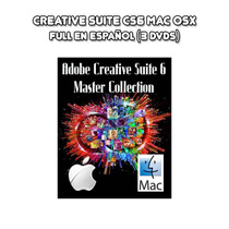 Adobe Creative Suite Cs6 Master Collection Mac Osx (3 Dvds)