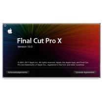 Final Cut X Pro 10.1.4 + Motion 5 + Compressor 4. Yosemite