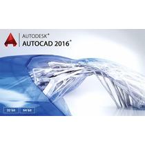 Autocad 2016 Windows (32 Bits-64 Bits) + Office 2013