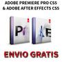 Premiere Pro Cs5 + After Effects Cs5 (2 Dvds) + Envio Gratis