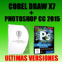Corel Draw X7 + Photoshop Cc + Windows 7/8/10 + Envio Gratis