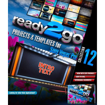 Proyectos Editables Para Sony Vegas Ready2go Vol. 12