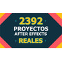 2392 Proyectos After Effects Reales En 160 Dvds! Unico!