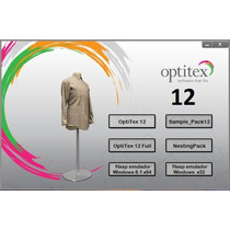 Optitex 12 Español Full Patronaje Xp-win7-win8 32-64 Bits