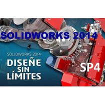 Solid Works Premium 2014 Sp4 Español +8000 Bloques+¡curso!
