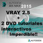3ds Max Studio 2015 + V-ray 3.0 +5tutorial Interactivo 4 Dvd