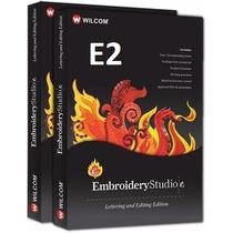 Wilcom Embroidery Studio E2 + ¡300.000 Diseños De Bordados!