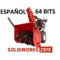 Solid Works Premium 2015 Sp1 Español +8000 Bloques + ¡tutos!