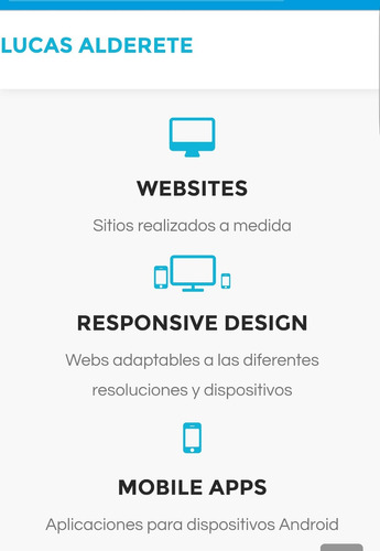 Diseño Web Sitios Responsive Parallax Hosting Dominio Maill