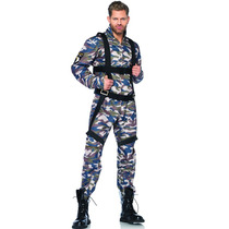 Disfraz Militar Hombre Leg Avenue Militar Agente Men Adultos