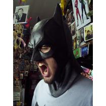 Disfrazate De Batman, Mascara Careta De Latex, Dark Knight