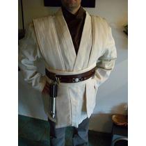 Star Wars Traje Disfraz Jedi Completo Obi Wan Adultos