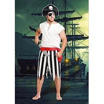 Pirata Disfraz De Adulto Talle 2