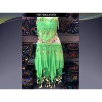 Traje Completo Odalisca- Belly Dance-arabe