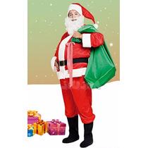 Disfraz Papa Noel Adulto Completo Candela La Lucila