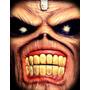 Mascara De Latex Iron Maiden, Eddie, Musica, Recital, Rock