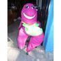 Disfraz De Barney Usado Original