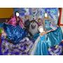 Disfraz Traje Para Animadoras Elsa Y Ana -cosplay