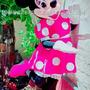 Disfraz Cabezón Importado Minnie Mouse