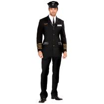 Disfraz Hombre Piloto Sexy Importado Usa Disfraz Adulto