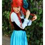 Disfraz Ariel. Sirenita. Adulto
