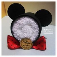 Mickey De Toalla Minnie Souvenir Nacimiento Baby Shower
