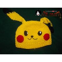 Pikachu Gorro Pokemon