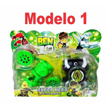 Set Ben 10 Super Hero Juegos En Blister Super Económico X10