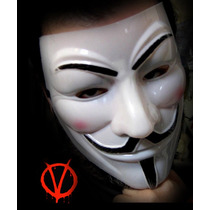 Anonymous Mask ,máscara, V De Venganza, Guyfawkes, Vendetta