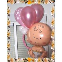 Globos 24 Baby Shower -decoracion Globos (con Helio Ó Aire)