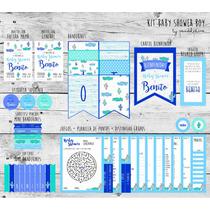 Baby Shower Nene. Deco + Juegos. Kit Imprimible!