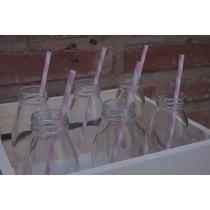 Botellitas De Vidrio Para Candy Bar (10 Unidades)
