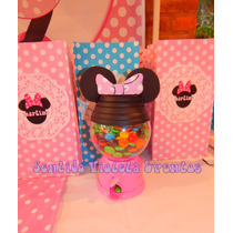 Maquina Expendedora De Golosinas Dispenser Candy Bar Minnie