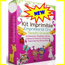 Kit Imprimible Empresarial Diamond + Oro + Premium +regalos