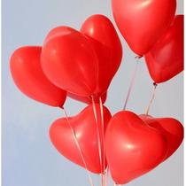 Globos Con Helio Corazon San Valentin