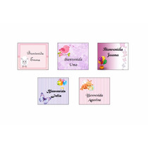 Etiquetas Candy Bar Baby Shower Nacimiento Stickers