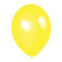 Globos Amarillo Perlados 12 Pulgadas En Pack De 25 Unidades