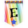 Banderines Personalizados Cumple Fiestas Minions Cars Sofia
