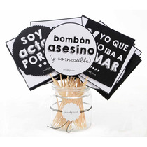 Props / Carteles Frases. Photobooth. Personaliza Tu Fiesta!