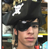 Sombrero Pirata P/disfraz Monkey Island Guybrush Threepwood