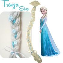 Frozen Trenza Princesa Elsa Disfraces Infantiles Artesanales