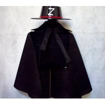 El Zorro Antifaz Espada Sombrero Capa Disfraz Brovillnet