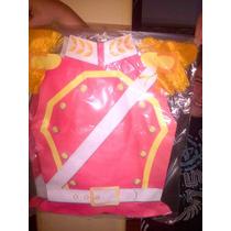 Disfraz Pechera De Realista Soldado Rojo Soldado Español