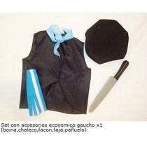 Disfraz Set De Gaucho Con Accesorios